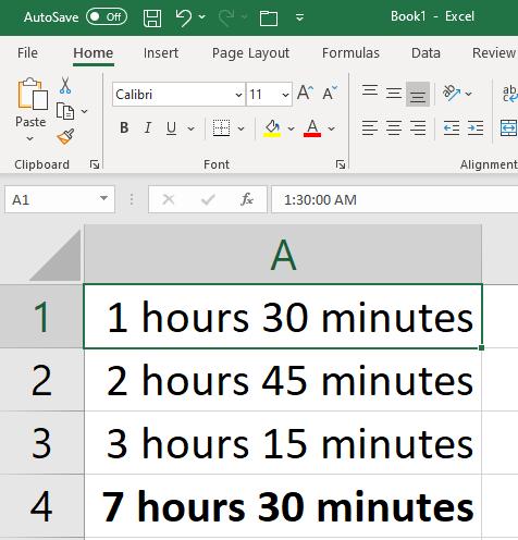 Excel Formulas Formatting 5